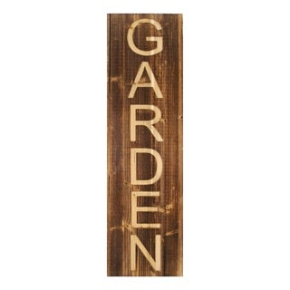 Stratton Home Decor Wood Garden Panel Wall Décor