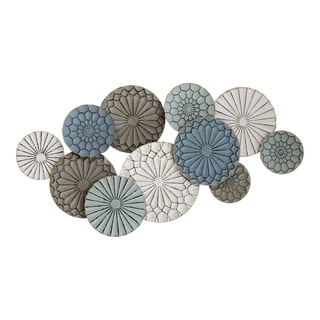 Link to Stratton Home Decor Caroline Metal Plates Statement Wall Décor Similar Items in Wall Sculptures