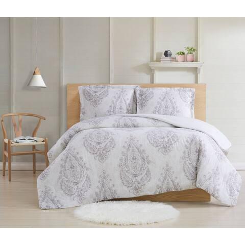 Cottage Classics Paisley Blossom 3 Piece Comforter Set