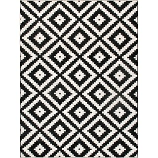 Link to Pasargad Home Palermo Design Power Loomed Polyster & Chenille Area Rug Similar Items in Rugs