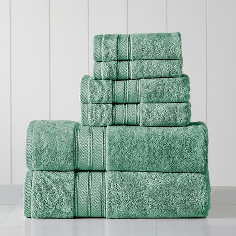 Amrapur Overseas 6-Piece SpunLoft Towel Set - N/A