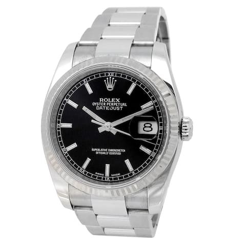Pre-owned 36mm Rolex Stainless Steel Datejust - N/A