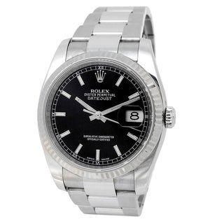 Link to Pre-owned 36mm Rolex Stainless Steel Datejust - N/A Similar Items in Men's Watches