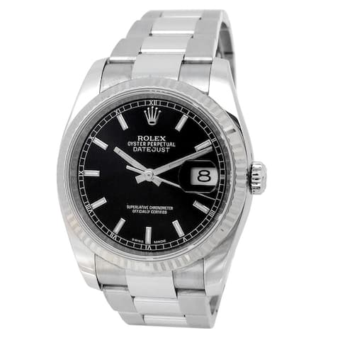 Pre-owned 36mm Rolex Stainless Steel Datejust - N/A - N/A