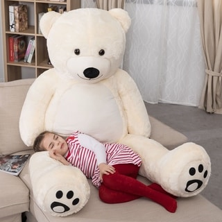 WOWMAX Large Teddy Bear Stuffed Animal Soft Plush Toy Gift 72""