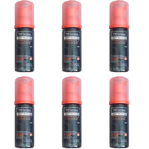 (6 Pack) Tresemme Expert Selection Perfectly (UN) DONE Wave Creation Sea Foam 1.5 Oz