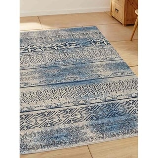 Transitional Oriental Heatset Carpet Turkish Over Dyed Area Rug