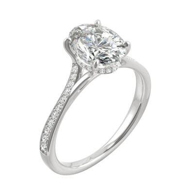 Moissanite Rings Online At Our Best Deals