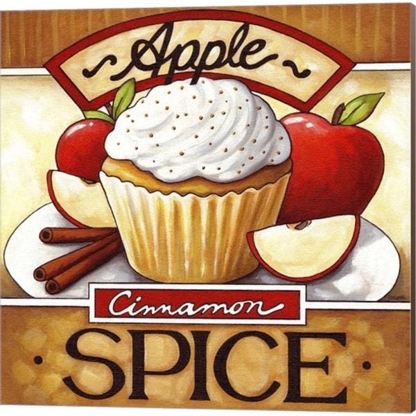 Cathy Horvath-Buchanan 'Cupcake Apple Cinnamon Spice & Sunny Lemon Chiffon' Canvas Art (Set of 2)