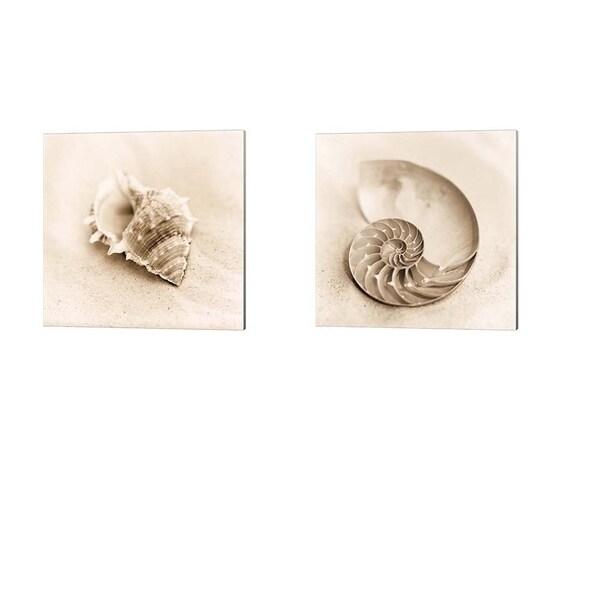 Alan Blaustein 'Il Oceano' Canvas Art (Set of 2)