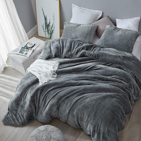 Coma Inducer Comforter - The Original Plush - Steel Gray