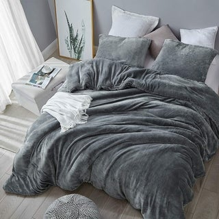 Link to Coma Inducer Comforter - The Original Plush - Steel Gray Similar Items in Comforter Sets