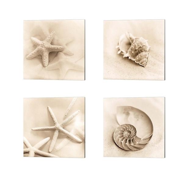 Alan Blaustein 'Il Oceano' Canvas Art (Set of 4)
