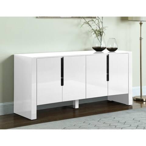 Best Master Furniture 4 Storage Compartment Sideboard
