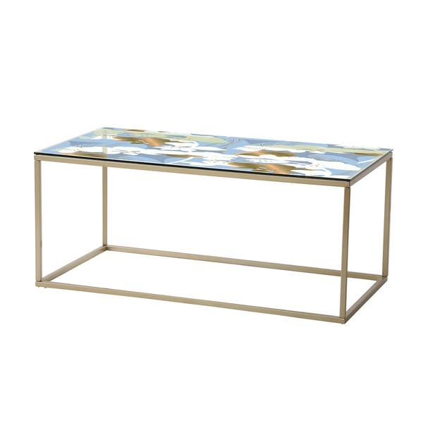 Magnificent Designart Painted Simple Form Neutral On White Modern Contemporary Coffee Table Machost Co Dining Chair Design Ideas Machostcouk