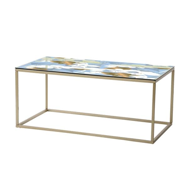 Magnificent Designart Painted Simple Form Neutral On White Modern Contemporary Coffee Table Onthecornerstone Fun Painted Chair Ideas Images Onthecornerstoneorg