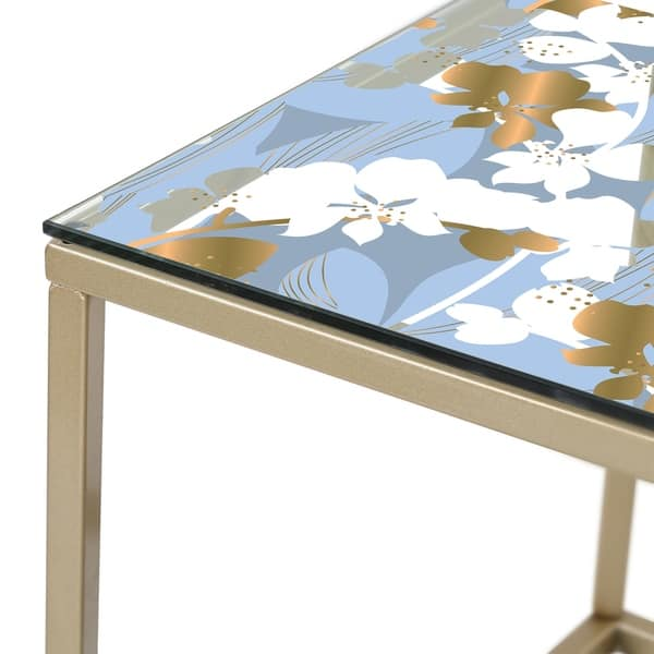 Remarkable Designart Painted Simple Form Neutral On White Modern Contemporary Coffee Table Machost Co Dining Chair Design Ideas Machostcouk