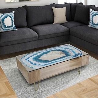 Designart 'Geode 1' Modern Coffee Table