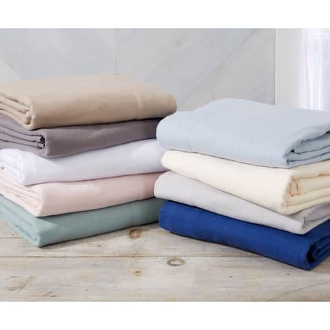 Nordic Collection Extra Soft 100 Cotton Flannel Deep Pocket Bed Sheet Set