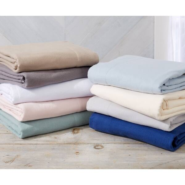Shop Black Friday Deals On Nordic Collection Extra Soft 100 Cotton Flannel Deep Pocket Bed Sheet Set Overstock 29611034