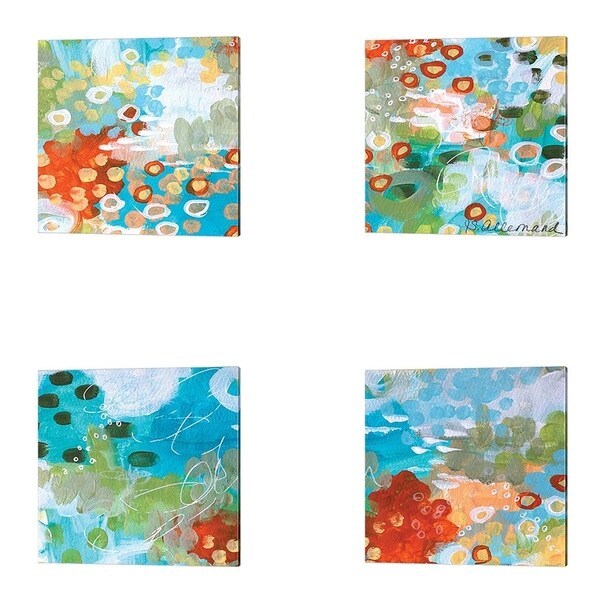 Sue Allemond 'Superbloom' Canvas Art (Set of 4)