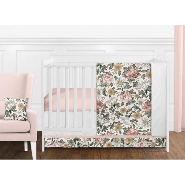Shop Sweet Jojo Designs Vintage Floral Boho Girl 11pc ...