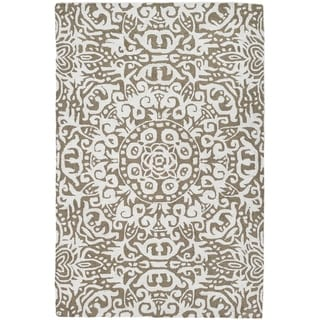 Handmade Arley Khaki Area Rug (India) - 3' x 5'/Surplus