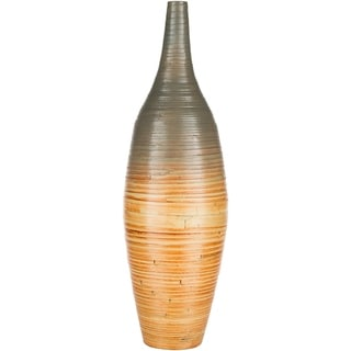 Auvray Modern Bamboo Bud Shaped Floor Vase