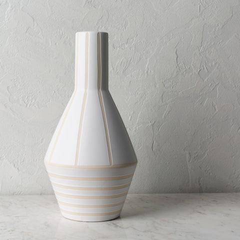 Noni Modern Ceramic Bud Shaped Vase