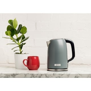Haden Perth 1.7 L Stainless Steel Electric Tea Kettle w/ Auto Shut-Off