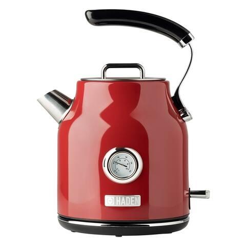 Haden Dorset 1.7L Stainless Steel Electric Tea Kettle w/Auto Shut-Off
