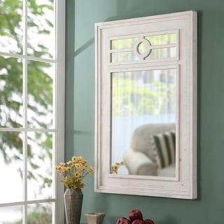 "Brimney Distressed Wall Mirror - 40.5"" x 28"""