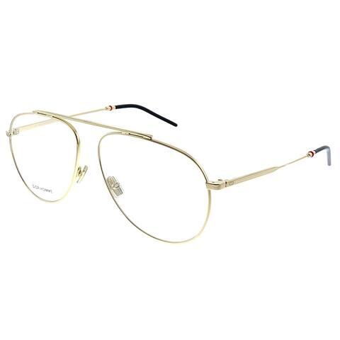 Dior Homme CD Dior0221 J5G 59mm Unisex Gold Frame Eyeglasses 59mm