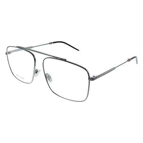Dior Homme CD Dior0220 KJ1 58mm Unisex Ruthenium Frame Eyeglasses 58mm