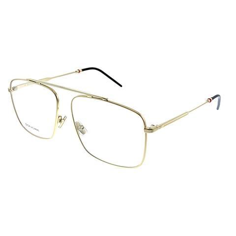 Dior Homme CD Dior0220 J5G 58mm Unisex Gold Frame Eyeglasses 58mm