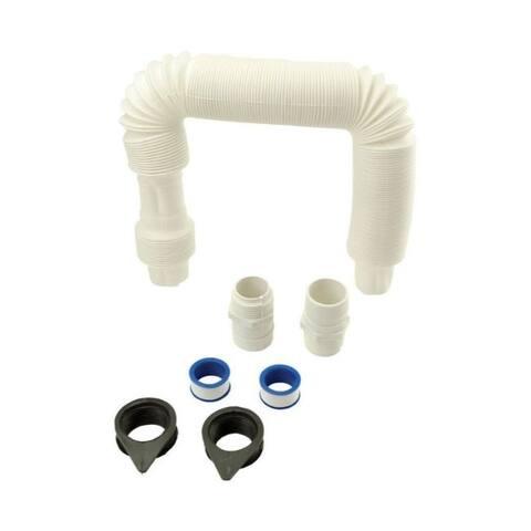 Rain Reserve White Connector Kit Plastic