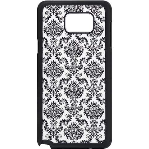 Lace Crystal Silicone Skin Case for Samsung Galaxy Note 5