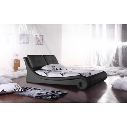 Greatime B2004 Modern Platform Bed