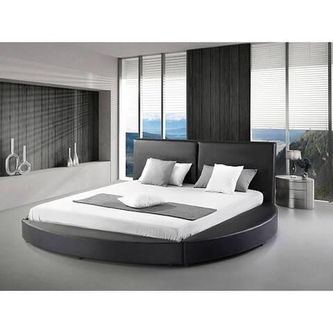 Greatime B1159 Modern Round Shape Platform Bed