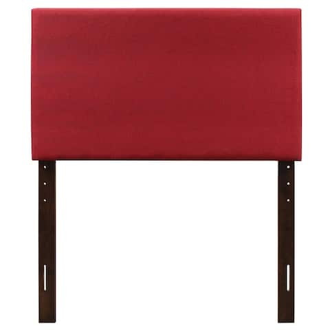 Porch & Den Mississippi Twill Fabric Adjustable Headboard