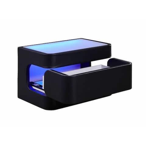 Strick & Bolton Salokivi Upholstered LED Nightstand