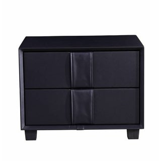 Greatime NL2402 Modern two drawers Nightstand