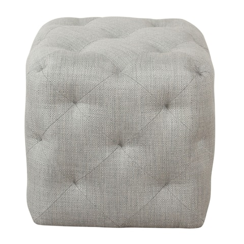 HomePop Small Pin-Tufted - Textured Gray