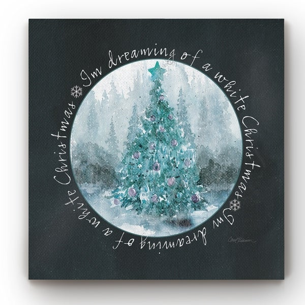 White Christmas -Gallery Wrapped Canvas