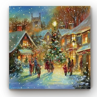 Evening Carol  -Gallery Wrapped Canvas