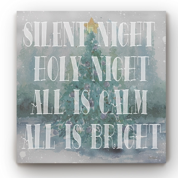 Silent Night -Gallery Wrapped Canvas