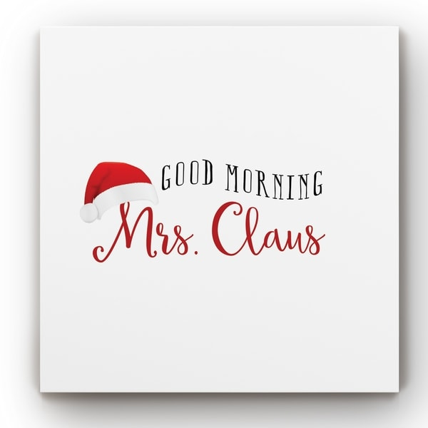 Mrs. Claus -Gallery Wrapped Canvas