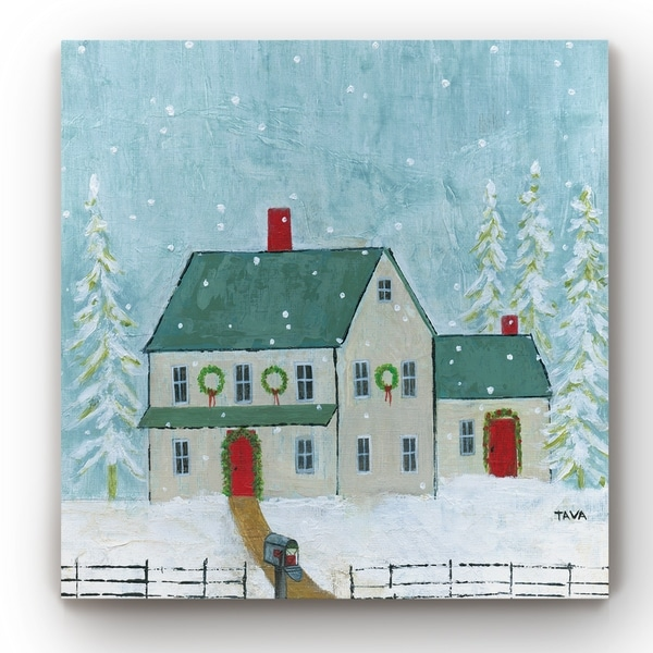 Home For Christmas -Gallery Wrapped Canvas