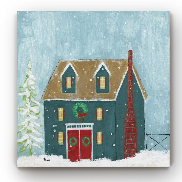 Ready For Christmas -Gallery Wrapped Canvas