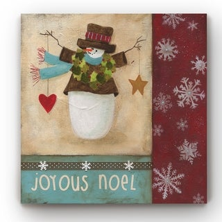 Holly Berry Noel  -Gallery Wrapped Canvas